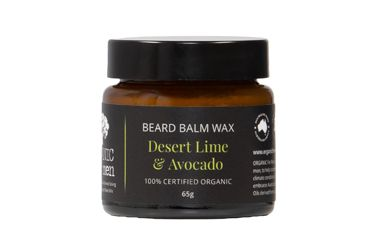 Desert lime avocado beard balm wax